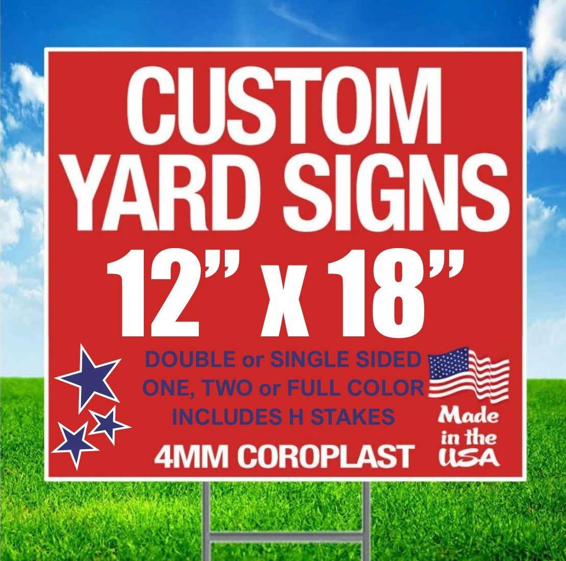 Custom Yard Sign
